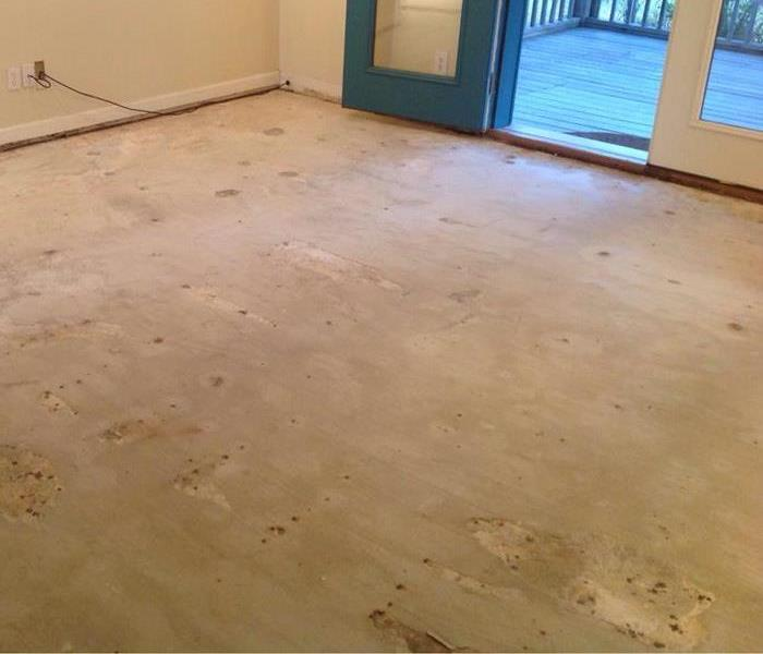 Removed Flooring
