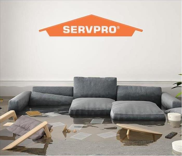 Couch In Flooded Room